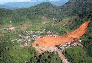 Guerrero derrumbes