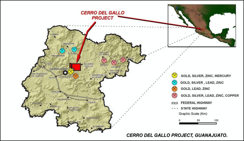 Cerro del Gallo overview